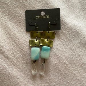 NWT Chico's earrings
